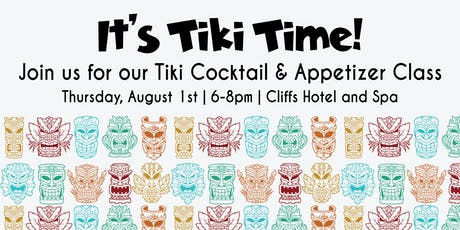 Tiki Cocktails and Savory Appetizer How-To tickets
