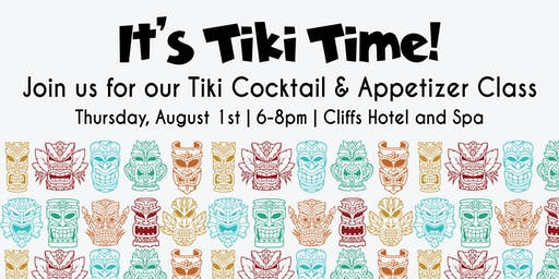 Tiki Cocktails and Savory Appetizer How-To