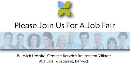 Commonwealth Health - Berwick Hospital Job Fair