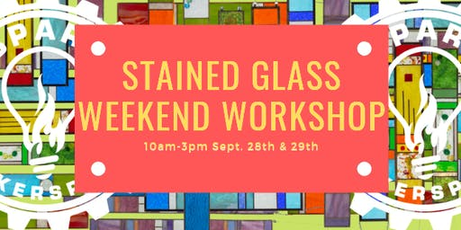 Stained Glass Strip Panels: Weekend Workshop