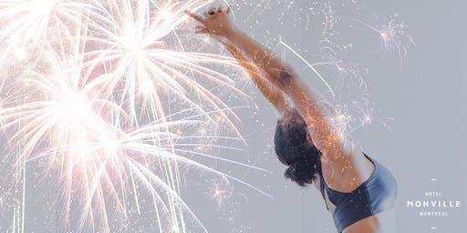 Yoga Feux d'Artifice | Yoga Fireworks