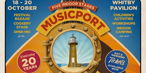 Musicport 2019 - our 20th Anniversary!