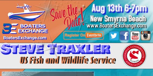 """Boaters Exchange 2nd Tuesday Fishing Seminar """"Best Fishing Practices"""" w Steve Traxler"""