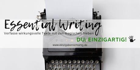 Essential Writing - Exklusiv für YL Distributoren Tickets
