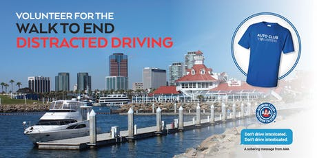 VOLUNTEER for the 2019 Auto Club Walk to End Distracted Driving tickets