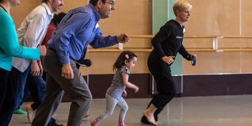 Alonzo King LINES Ballet Family Dance Workshop