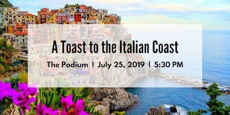 A Toast to the Italian Coast tickets