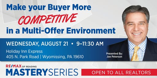 Make your Buyer More Competitive in  a Multi-Offer Environment