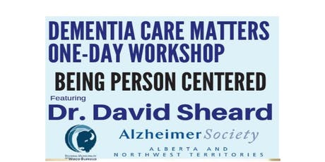 Dr. David Sheard Workshop - Dementia Care Matters  tickets