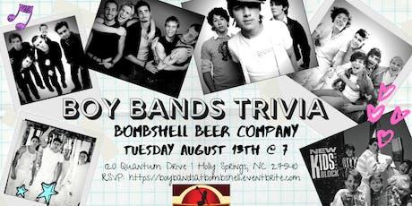 Boy Band Trivia at Bombshell Beer Company tickets