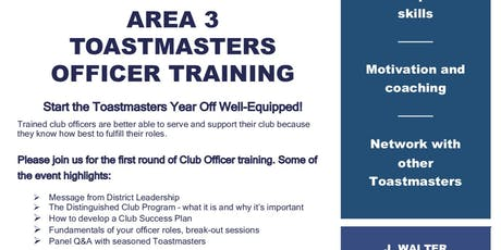 District 49 Area 3 Maui Club Officers and Membership Training, Saturday July 27, 2019 tickets