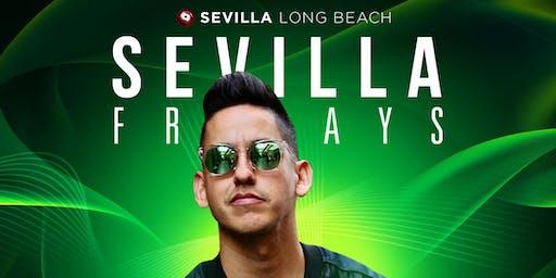 FRIDAYNIGHT at Sevilla Long Beach with JRYTHM & DJ STUNNA