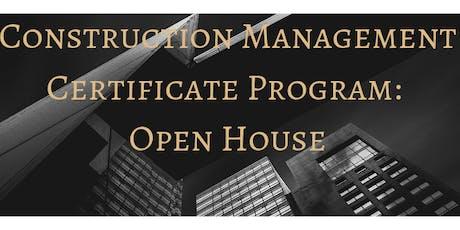CMC Open House 2019 tickets
