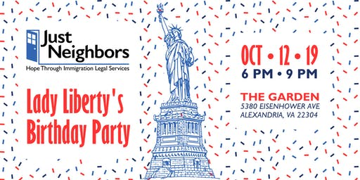 Lady Liberty's Birthday Party Benefiting Just Neighbors