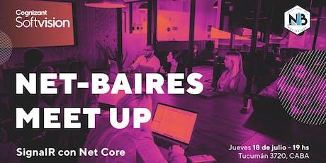 Tech Meetup: SignalR con Net Core entradas