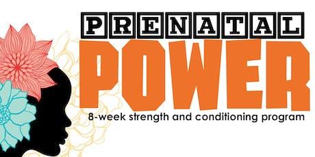 Prenatal Power Fitness Class tickets