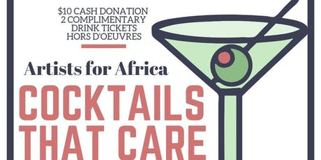 Cocktails That Care- Artists for Africa tickets