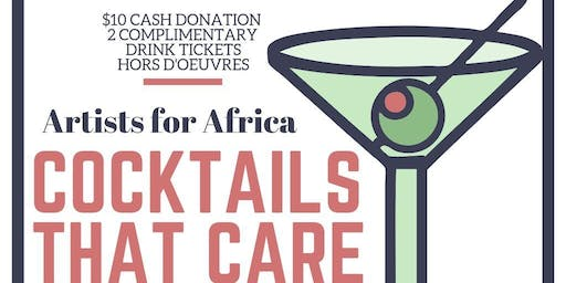 Cocktails That Care- Artists for Africa