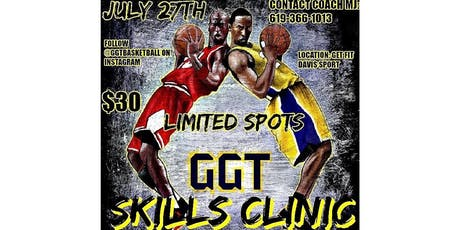 TRAIN LIKE A PRO! GGT Basketball Clinic tickets