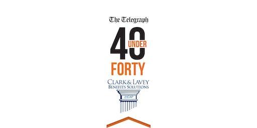 40 Under 40 Nashua Telegraph/Clark Lavey