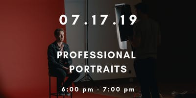 Workshop Wednesdays: Professional Portraits