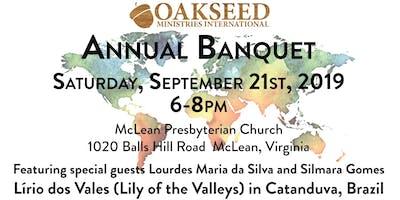 Oakseed Ministries International Fall Banquet