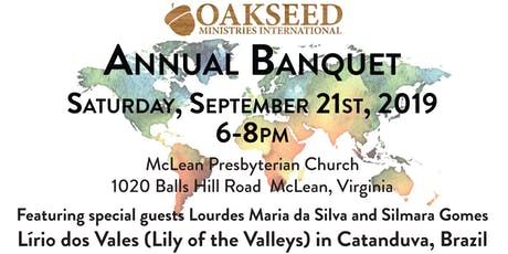 Oakseed Ministries International Fall Banquet tickets