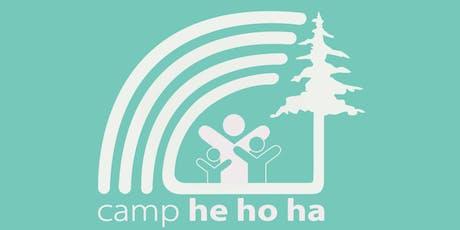 EIE Open House, Camp He Ho Ha tickets