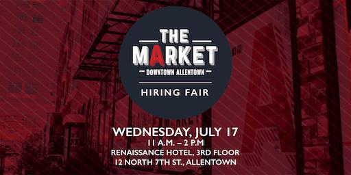Downtown Allentown Market Hiring Fair