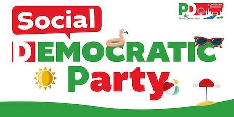 Social Democratic Party - PD Londra tickets