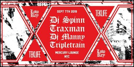 TEKLIFE feat. DJ Spinn, TRAXMAN, DJ Manny, Tripletrain tickets