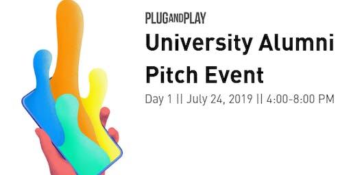 University Alumni Pitch Event Day 1