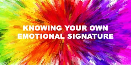 The Power of Your Emotional Signature tickets