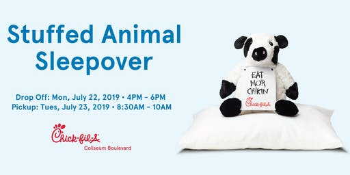 Stuffed Animal Sleepover 2019