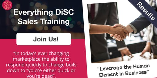 DiSCovery Sales Training