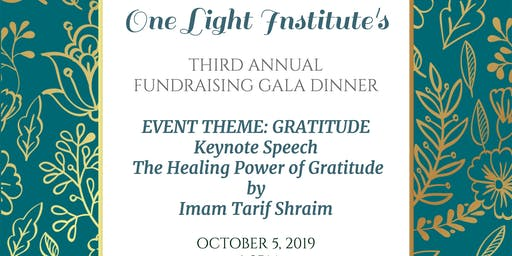 One Light Institute's  Annual Fundraising Gala Dinner