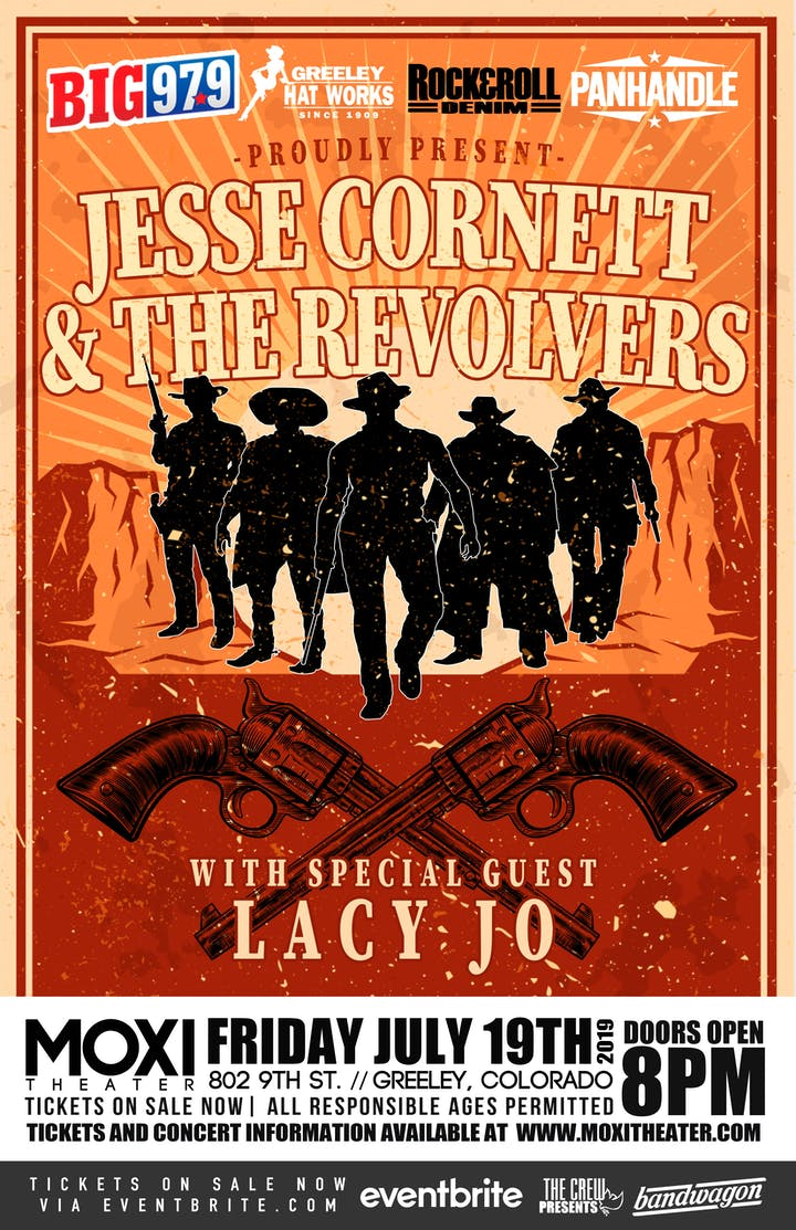 Jesse Cornett & The Revolvers with special guest: Lacy Jo – Tickets