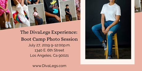 DivaLegs Experience Boot Camp: Photo Session tickets