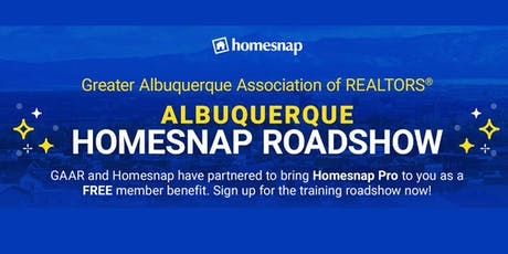 Homesnap Roadshow! A Guide to Using the Homesnap National Home Search Platform! tickets