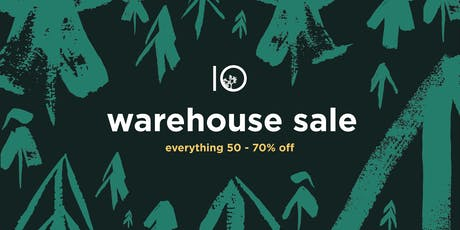 tentree Warehouse Sale tickets