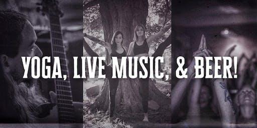 Yoga, Live Music, & Beer!