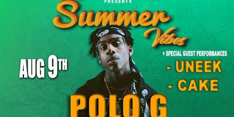 BENNY BANDZ SUMMER VIBES PARTY  + ( POLO G , UNEEK , CAKE ) tickets