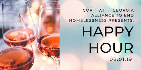 CORT with Georgia Alliance to End Homelessness Happy Hour Networking Event  tickets