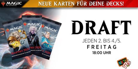 Magic: DRAFT - Hauptset 2020 Saison Tickets
