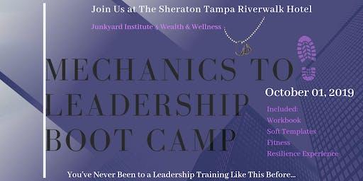 Mechanics to Leadership Boot Camp Workshop