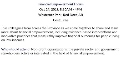 Alberta Financial Empowerment Forum -Bus Transportation to Forum tickets