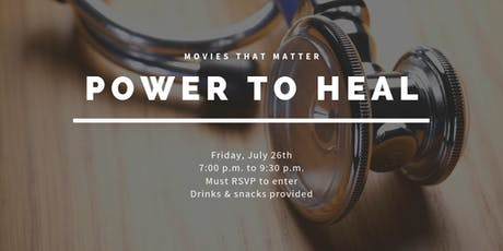Movies That Matter: Power to Heal tickets