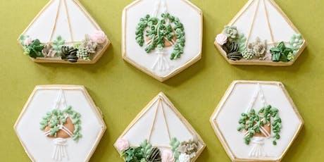 Terrarium & Succulent Cookie Decorating tickets