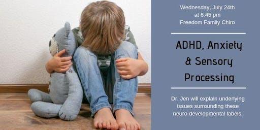 ADHD, Anxiety & SPD Workshop
