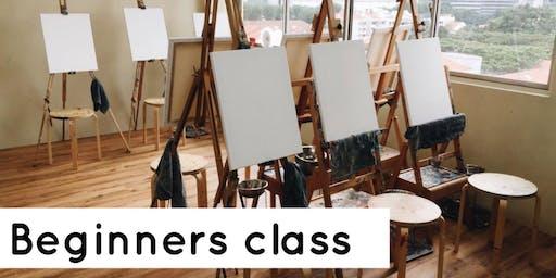 Paint & Sniff Beginners Class